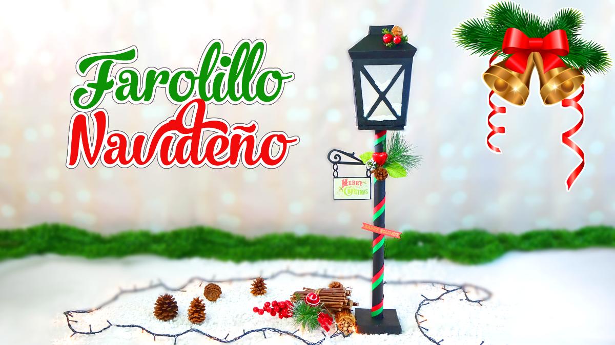 Manualidades para navidad farolillo hecho con caja de - Para navidad manualidades ...