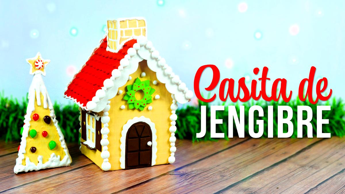 Decora la Navidad, Casita de Jengibre hecha con Cartón | El Mundo de Isa