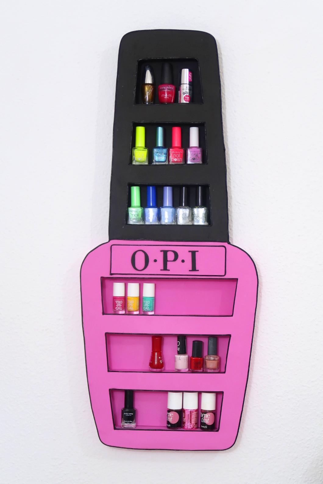organizador para tus esmaltes de uñas con diseño original ...