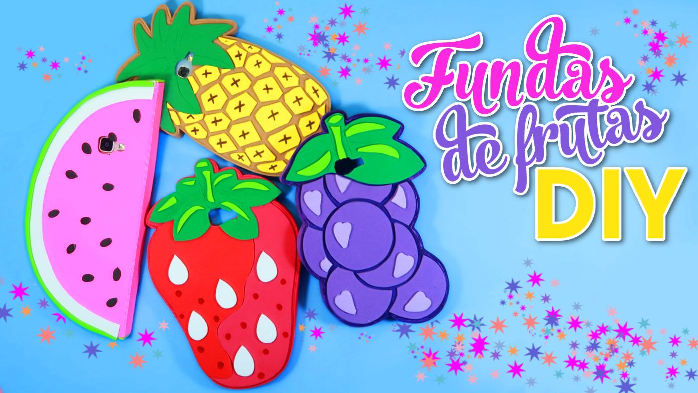 426d9fb37c5 Fundas para celular o movil caseras en forma de frutas | El Mundo de Isa
