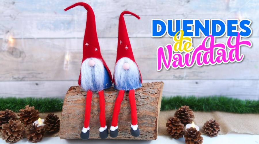 Manualidades para decorar en navidad como hacer duendes o - Manualidades para decorar en navidad ...